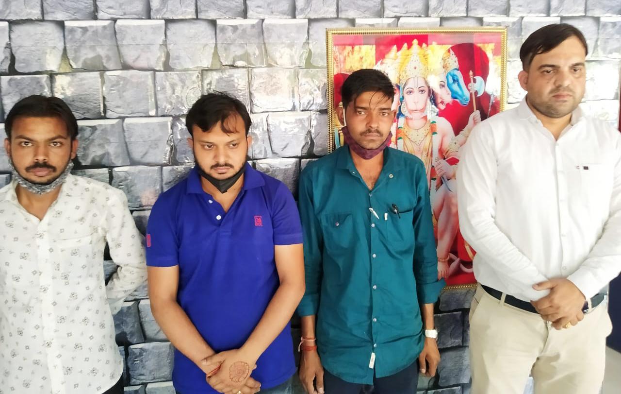 कानपुर: पत्रकारिता की आड़ में ऑक्सिजन सिलिंडर की कालाबाजारी! पुलिस ने पकड़ा।
