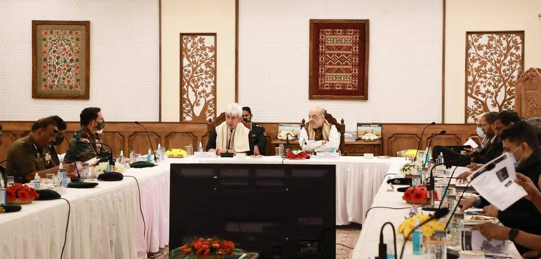 आर्टिकल 370 रद्द होने के 25 महीने बाद गृहमंत्री अमित शाह जम्मू-कश्मीर के दौरे पर।
